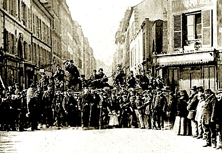 Rue saint sebastien paris
